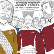 The Next Generation Adult Coloring Book: Continuing Missions (Star Trek)