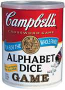 Campbell's Alphabet - Dice Game