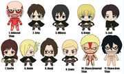 Attack on Titan - 3D Foam Key Ring Blind Bags