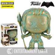 Funko Pop! Batman v Superman Aquaman Patina EE Exc