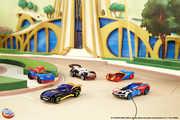 Mattel - Hot Wheels - DC Super Hero Girls Character Car Assortment