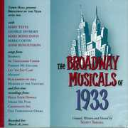 Broadway Musicals Of 1933