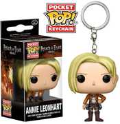 FUNKO POP! KEYCHAIN: Attack On Titan - Annie Leonhart