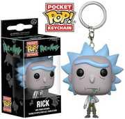 FUNKO POP! KEYCHAIN: Rick and Morty - Rick