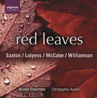 Saxton/Lutyens - Red Leaves