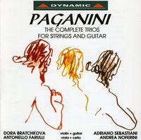 Andrea Noferini - Complete Trios For Strings & Guitar / Serenata