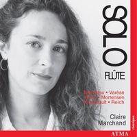 REICH/TAKEMITSU/BERIO/VARESE - Solo Flute