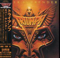 Triumph - Never Surrender (Mini Lp Sleeve) [Import]