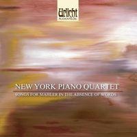New York Piano Quartet - Rhapsody/Suite