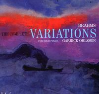 J. BRAHMS - Complete Variations for Solo Piano