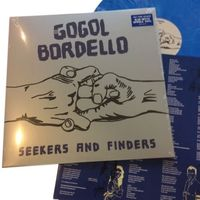 Gogol Bordello - Seekers And Finders [Indie Exclusive Limited Edition Blue/White Marble LP]