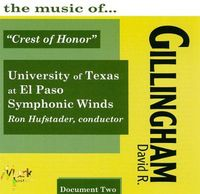 University of Texas at El Paso Wind Symphony - Music Of David R. Gillingh
