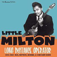 Little Milton - Long Distance Operator 1953-1962: Sun Meteor Bobbin & Checker Sides