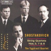 Yggdrasil - Qtet #3 Op.73 / QTQ #7 Op.108 / Qtet #8 Op.110