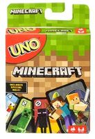 - Mattel Games - UNO: Minecraft