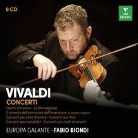 Vivaldi / Biondi / Europa Galante - Ii Cimento Dell'armonia E Dell'inventione (Box)