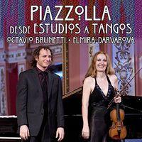 Elmira Darvarova - Piazzolla / Darvarova / Brune : Desde Estudios a Tangos
