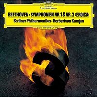 Beethoven / Herbert Karajan Von - Beethoven: Symphonies 1 & 3 [Reissue] (Shm) (Hrcu)