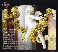 Trudelies Leonhardt - Mozart: Works For Fortepiano