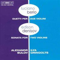 Ilya Gringolts - Duetti Per Due Violini / Sonata for 2 Violins