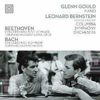 Glenn Gould - Plays Beethoven Concerto 2 & Bach Concerto 1