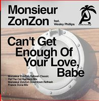 Monsieur ZonZon - Can't Get Enough Of Your Love, Babe