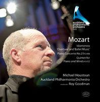 Mozart / Houstoun / Auckland Philharmonia Orch - Idomeneo Overture & Ballet Music