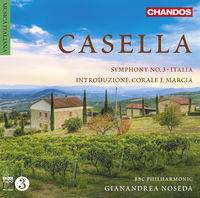 BBC Philharmonic Orchestra - Casella Orchestral Works 3