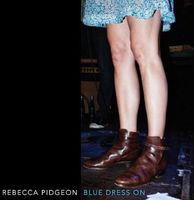 Rebecca Pidgeon - Blue Dress on