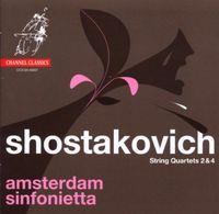 Amsterdam Sinfonietta - String Quartets Nos 2 & 4