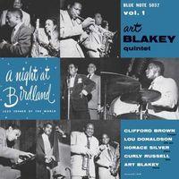 Art Blakey - A Night At Birdland with The Art Blakey Quintet, Volume 1 [10 Inch Vinyl]
