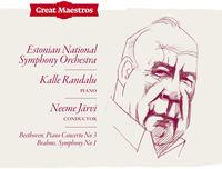 Neeme Järvi - Beethoven: Piano Concerto No. 3 In C Minor, Op. 37 - Brahms: Symphony No. 1 In C Minor, Op. 68 (Live)