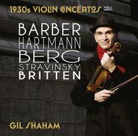 Gil Shaham - 1930s Violin Concertos 1