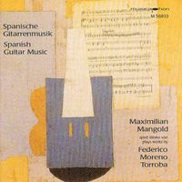 Maximilian Mangold - Moreno Torroba, F.: Music For Guitar