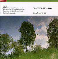 K Riisager - Symphonies 12-14