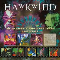 Hawkwind - Emergency Broadcast Years 1994-1997 (Box) [Remastered]