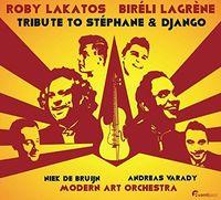 Roby Lakatos - Tribute To Stephane & Django / Various (Hybr)
