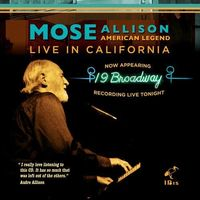 Mose Allison - American Legend - Live In California