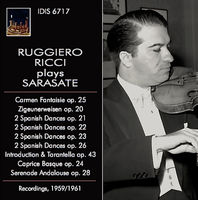 RUGGIERO RICCI - Sarasate: Orchestral & Chamber Works