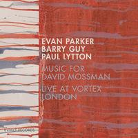 Barry Guy - Music For David Mossman