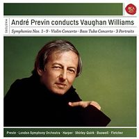 Andre Previn - Conducts Vaughan Williams (Box) (Uk)