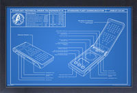 Star Trek: Discovery [TV Series] - Star Trek Discovery Communicator Blueprint 1 11x17 Framed Gel Coat Print