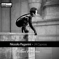 Robert Waechter - Niccolo Paganini 24 Caprices For Solo Violin