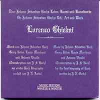 Lorenzo Ghielmi - On Johann Sebastian Bach's Life Art & Work