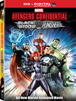 Marvel's The Avengers [Animated] - Avengers Confidential: Black Widow & Punisher