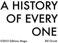Bill Orcutt - History Of Every One
