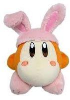 "- Little Buddy Kirby Adventure Waddle Dee Rabbit 6"" Plush"