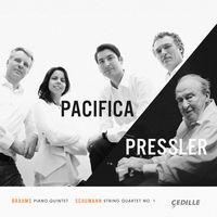 Menahem Pressler - Brahms: Piano Quintet op 34 / Schumann: String Quartet No 1