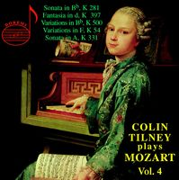 Colin Tilney - Colin Tilney Plays Mozart 4