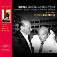 Krenek / Steinberg / Hamilton / Vejzovic - Ernst Krenek: Orpheus Und Eurydike